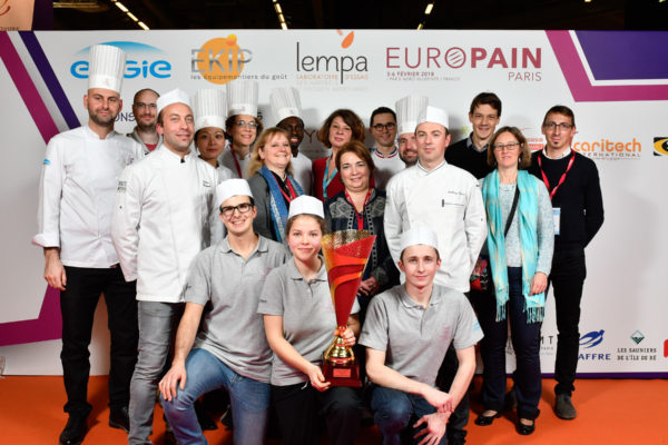 Europain 2018 - Coupe de France des Ecoles - Niveau Excellence